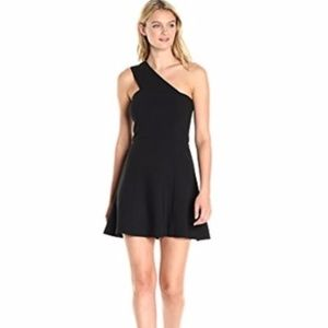 French Connection One Shoulder Mini Dress